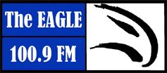 The Eagle 100.9 logo